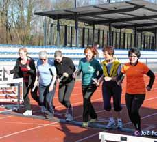 Bild: Der Frauenlauf startet am Sonntag. (Foto: Josef Ziegenfuß)