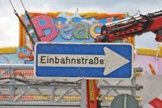 Bild: Verkehrsteilnehmer sollten auf die Beschilderung achten. (Foto: Stadt Oberhausen)