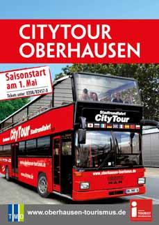 Bild: Im klassischen Rot auf zwei Etagen durch Oberhausen.