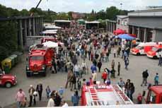 Bild: Die Feuerwehr feiert ihr 150-jähriges Bestehen mit einem großen Fest.