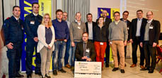 Bild:                     Die Gewinner des Ideenpreises 2018: das Gemeinsame Kompendium Rettungsdienst.