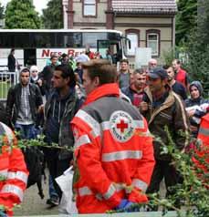 Bild: Die Stadt bereitet sich auf die Unterbringung von mehr als 500 Flüchtlingen vor. (Foto: Stadt Oberhausen)