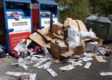 Bild: Immer wieder wird illegal Müll abgeladen. Damit soll jetzt Schluss sein. (Foto: Stadt Oberhausen)