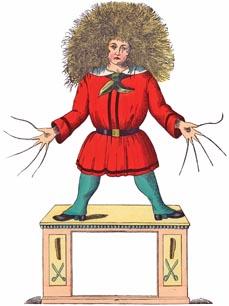 Bild: Der Struwwelpeter in seiner bekannten Gestalt. (Foto: © Heinrich Hoffmann)
