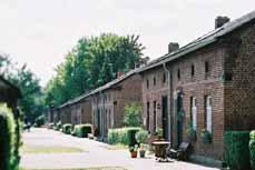 Bild: Blick in die Siedlung Eisenheim, die älteste Arbeitersiedlung im Ruhrgebiet. (Foto: LVR-Industriemuseum)