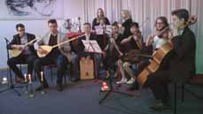 Bild: Das West-Ost-Diwan-Ensemble der Musikschule Hürth