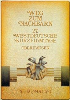 Bild: Ein Plakat aus dem Archiv der Internationalen Kurzfilmtage. (Foto: Int. Kurzfilmtage)