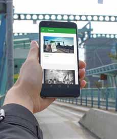 """Bild: Die App """"GEOCACHING OBERHAUSEN"""" gibt es kostenlos im Google-Playstore und im App-Store für IOS-Geräte.(Foto: STOAG)"""