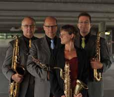 Bild: Die Kopopellis bilden seit 20 Jahren ein Quartett, das profunde Klassik- und Jazzerfahrung vorzuweisen hat.