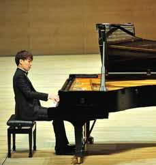 Bild: Chi Ho Han ist der Solist des Abends.