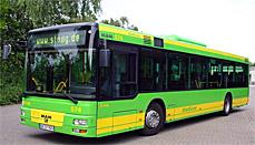 Bild: Mit den STOAG-Bussen geht's am Stau vorbei.