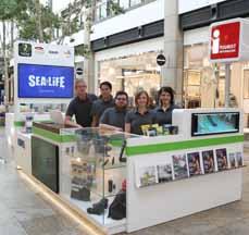 """Bild: Das Team der """"Tourist-Info Centro"""" am Mitteldom"""