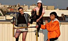 Bild: Technocandy, das sind Frederik Müller, Golschan Ahmad Haschemi und Banafshe Hourmazdi. (Foto: Alma)