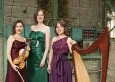 Bild: Mirjam Rietberg, Mieke Manschot und Sandra Wallner bilden das Merain Trio.