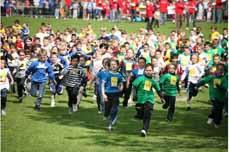 Bild: 2.500 Aktive treffen sich zur größten Schulsportveranstaltung in NRW.