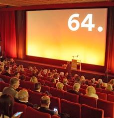 Bild: Die 64.Kurzfilmtage waren ein voller Erfolg. (Foto: Kurzfilmtage/Daniel Gasenzer)