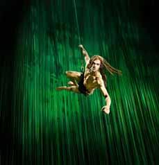 Bild: Ab dem Herbst schwingt sich Tarzan durch das Stage Metronom Theater.