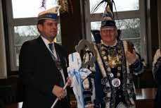Bild: Oberbürgermeister Daniel Schranz hat den Stadtschlüssel nach fünf Tagen wieder zurück bekommen. (Foto: Stadt Oberhausen)